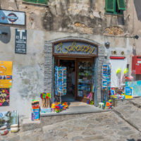 Souvenirshop in Capoliveri