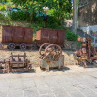 Überreste des Bergbaus