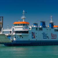 Fähre Piombino - Portoferraio Blue Navy