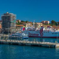 Hafen von Portoferraio