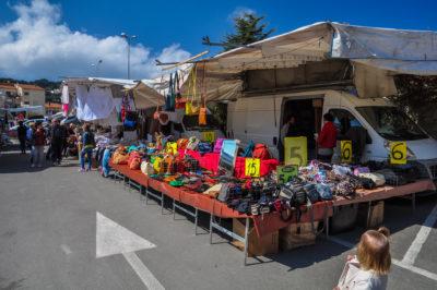 Markt auf der Insel Elba