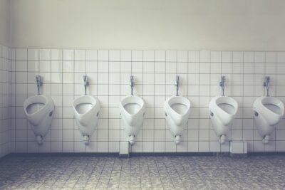 Öffentliche Toiletten auf Elba