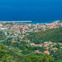 Blick von Poggio auf Marciana Marina.