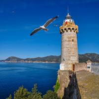 Leuchtturm auf der Forte Stella