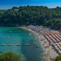Highlight der Insel Elba: Strand von Fetovaia
